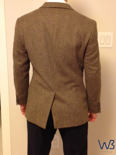 Suit Jacket The Vents Well Built Style