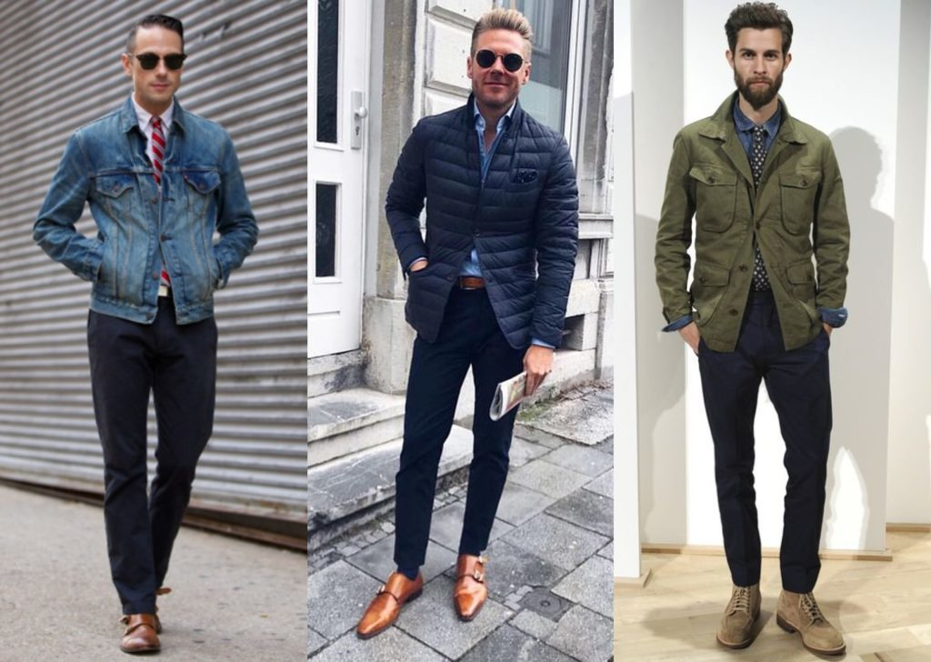 Dress With A Rugged-Refined Aesthetic