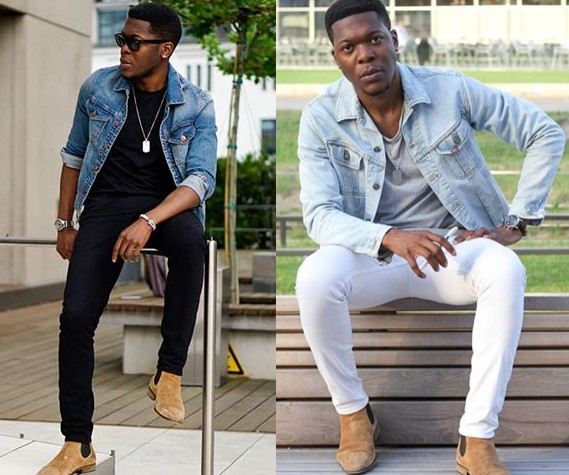 8121032ada The second principle of wearing a denim jacket well is making sure you mix  up the washes if you decide to go with a denim on denim look (denim jacket  + ...
