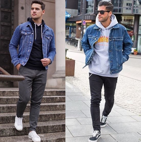 How To Wear A Denim Jacket With Style